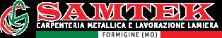 Samtek Srl - Lavorazione lamiere e carpenteria metallica